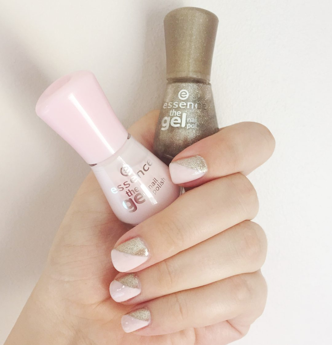 easy nail art with Essence nail polishes