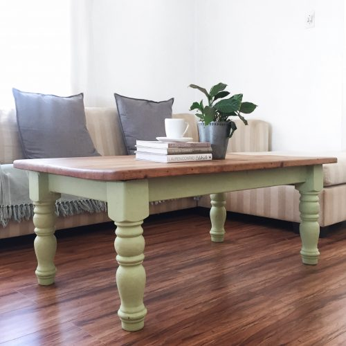 Annie Sloan Coffee Table Upcycle