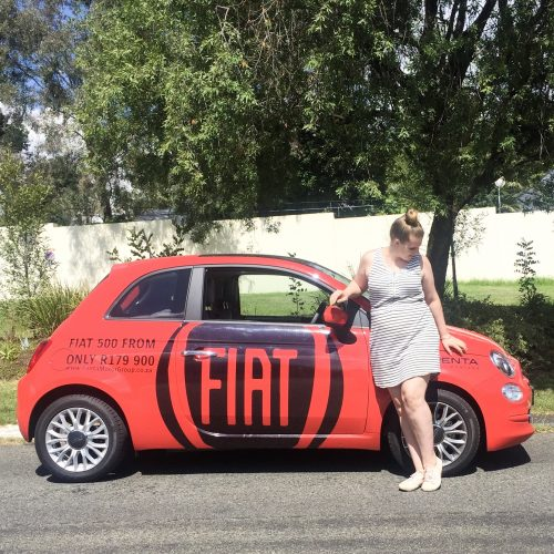 The Fiat 500: the perfect car for the on-the-go gal