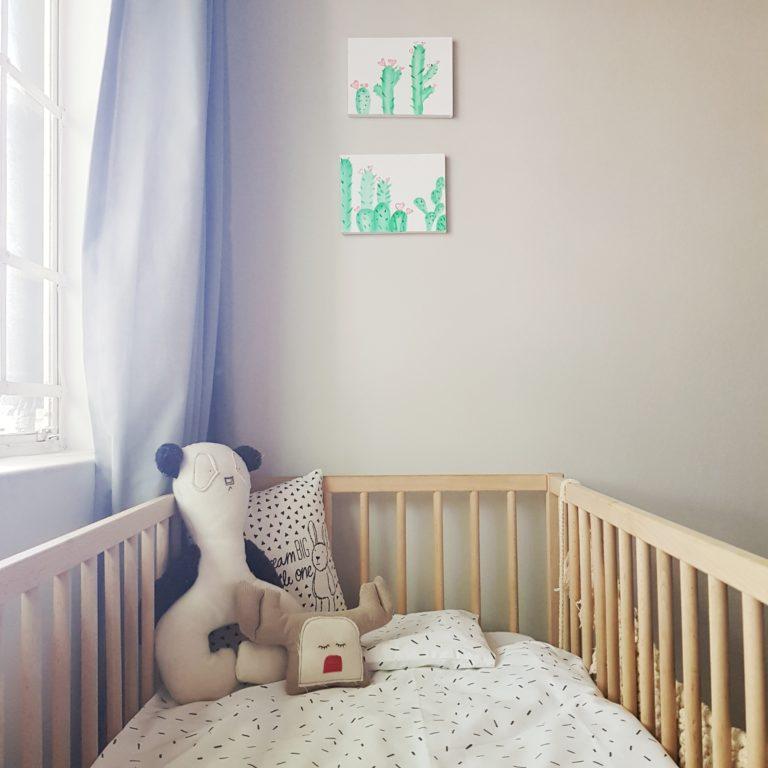Gender neutral nursery reveal (6)