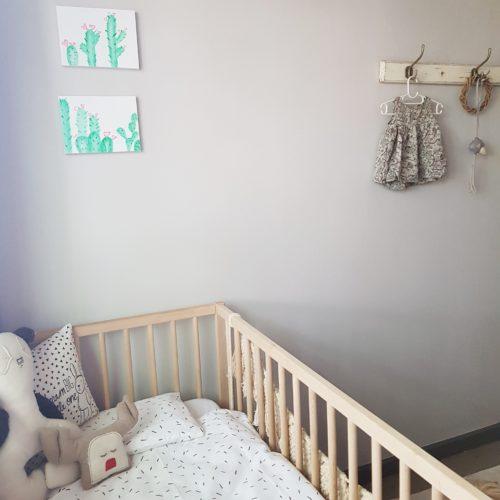 Gender neutral nursery reveal (7)